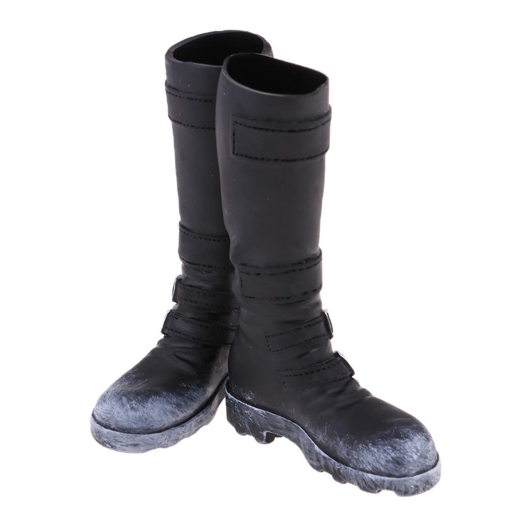 1-6-Scale-Male-Soldier-Combat-Boots-Shoes-for-12inch-Action-Figures-Bodies thumbnail 7