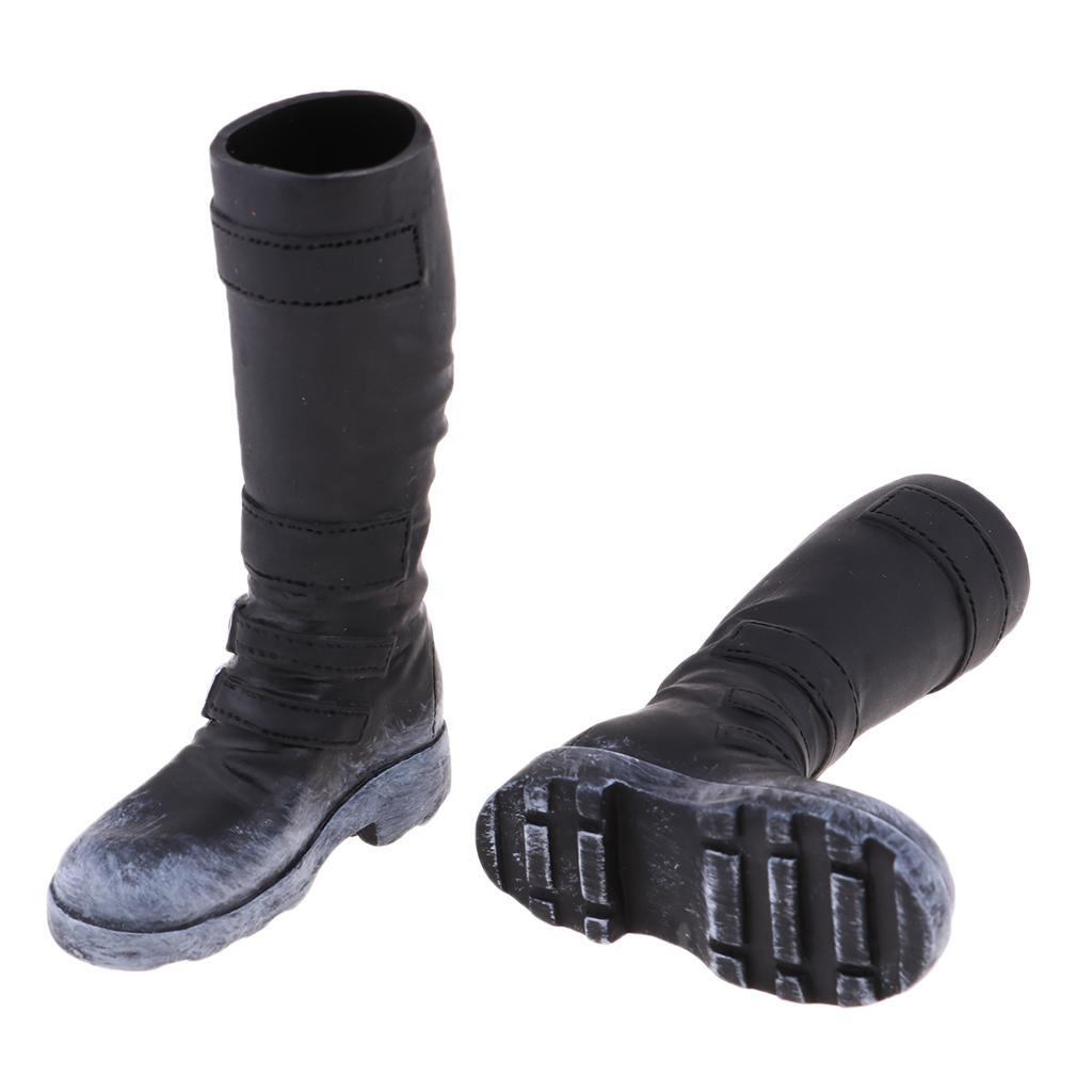 1-6-Scale-Male-Soldier-Combat-Boots-Shoes-for-12inch-Action-Figures-Bodies thumbnail 6