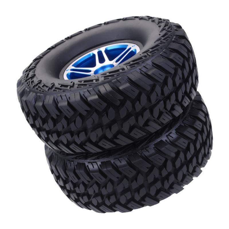 2Pcs-Tire-Tyres-for-TRX4-VRX-Racing-1-10-RC-Car-Truck-Part-Accessory miniature 10