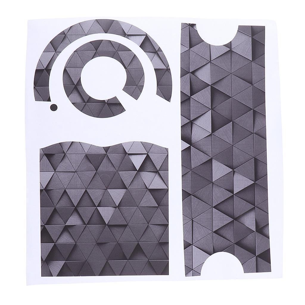 Asciugacapelli-Adesivi-in-PVC-Resistente-All-039-acqua-Materiale-in-Carta miniatura 9