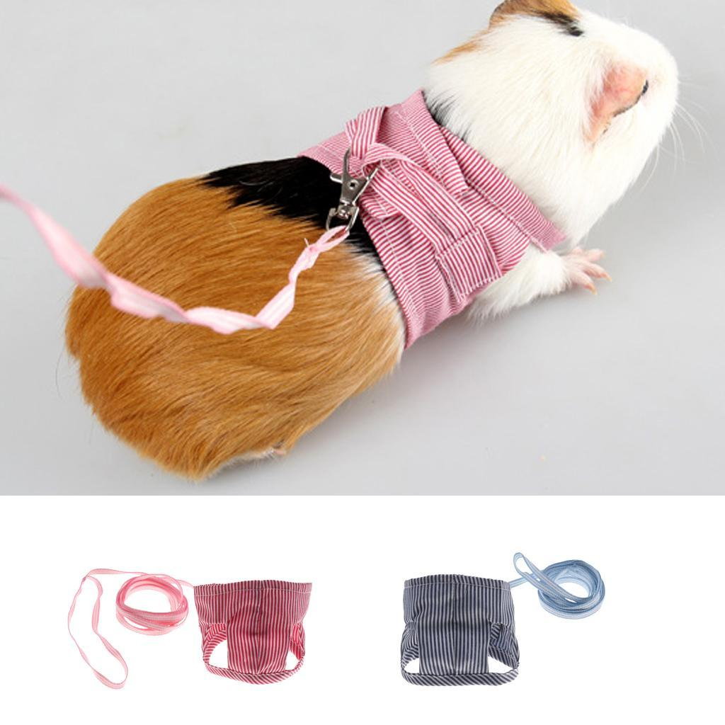 Rabbit-Walking-Harness-Leash-Pet-Puppies-Hamster-Leash-Vest-Traction-Rope thumbnail 10