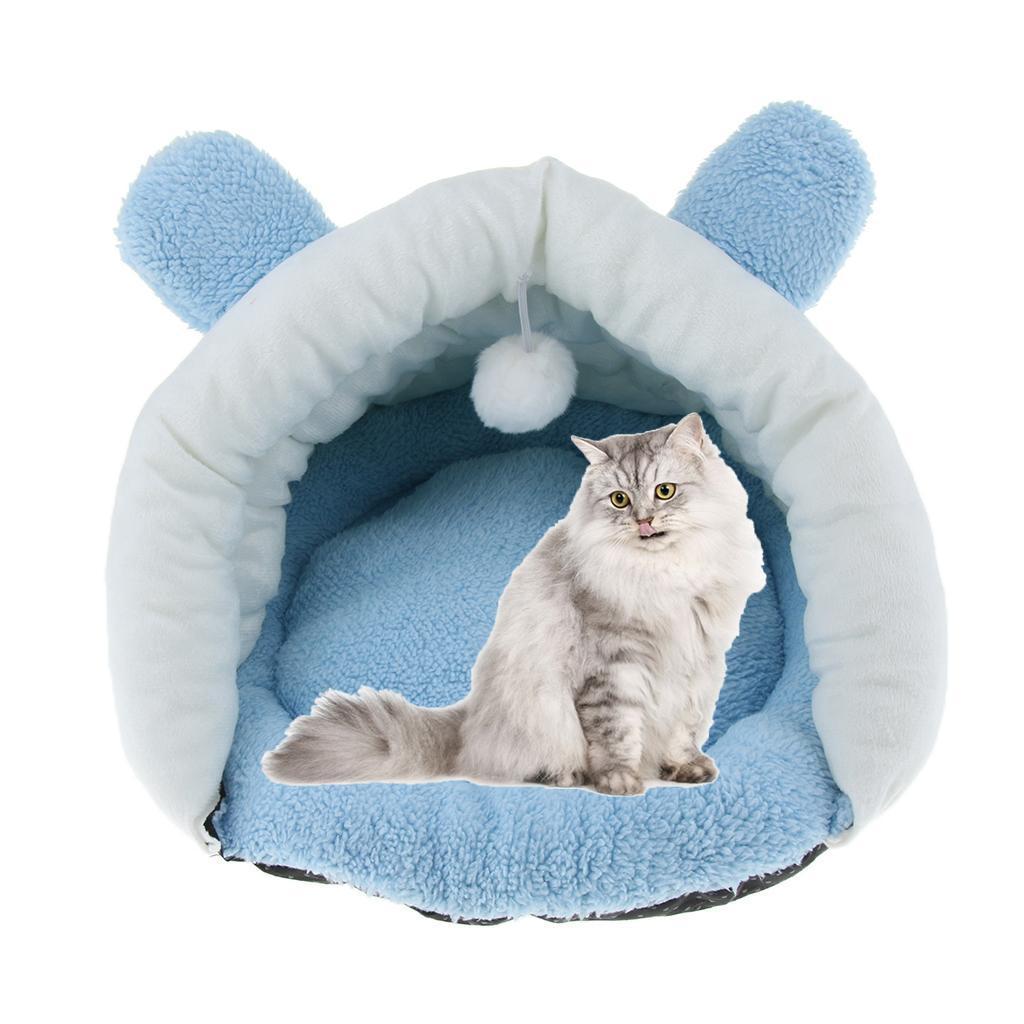 Indexbild 5 - Pet Mat Winter Warm Nest Haustier Katze Kleiner Hund Welpen Hundehütte Bett