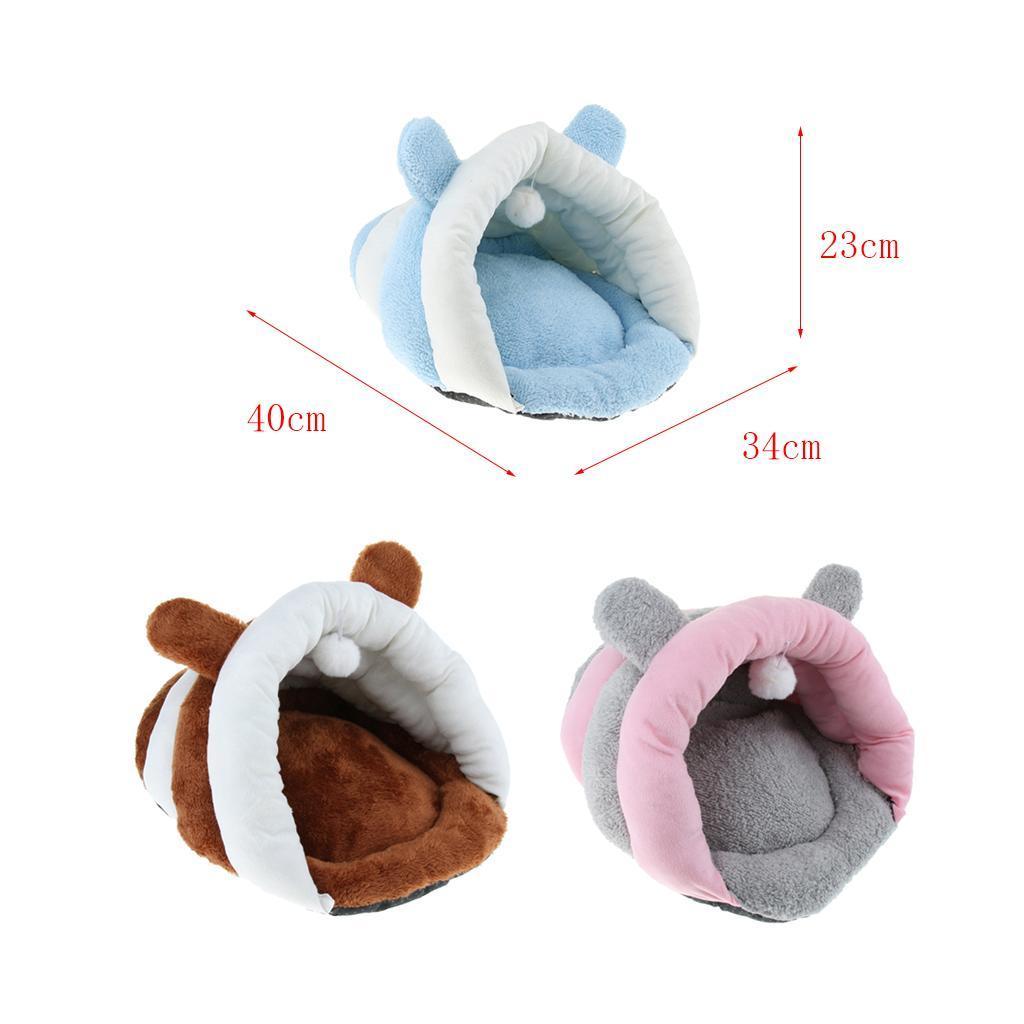 Indexbild 4 - Pet Mat Winter Warm Nest Haustier Katze Kleiner Hund Welpen Hundehütte Bett