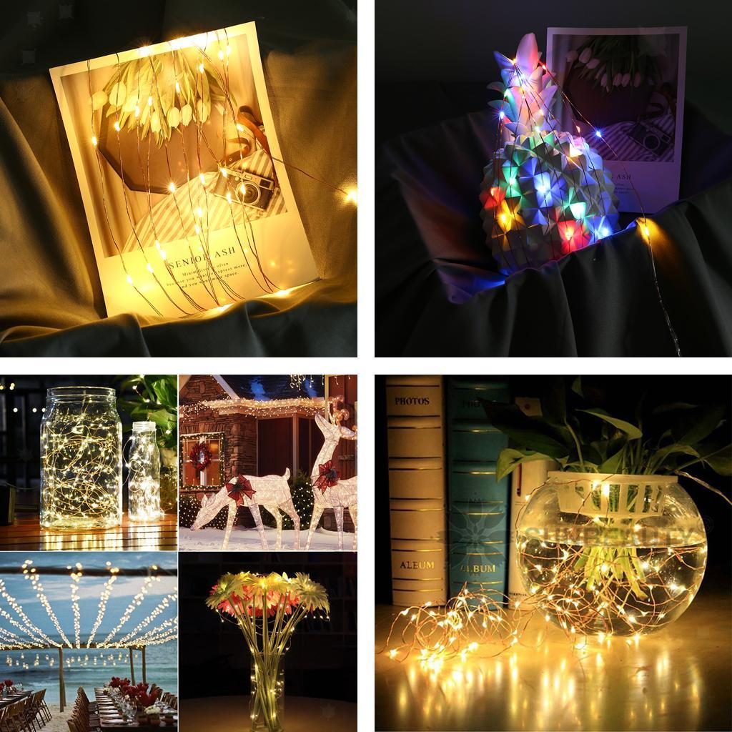 Holiday-Decor-Parties-Christmas-Decor-USB-String-Light-with-Remote-Control thumbnail 4