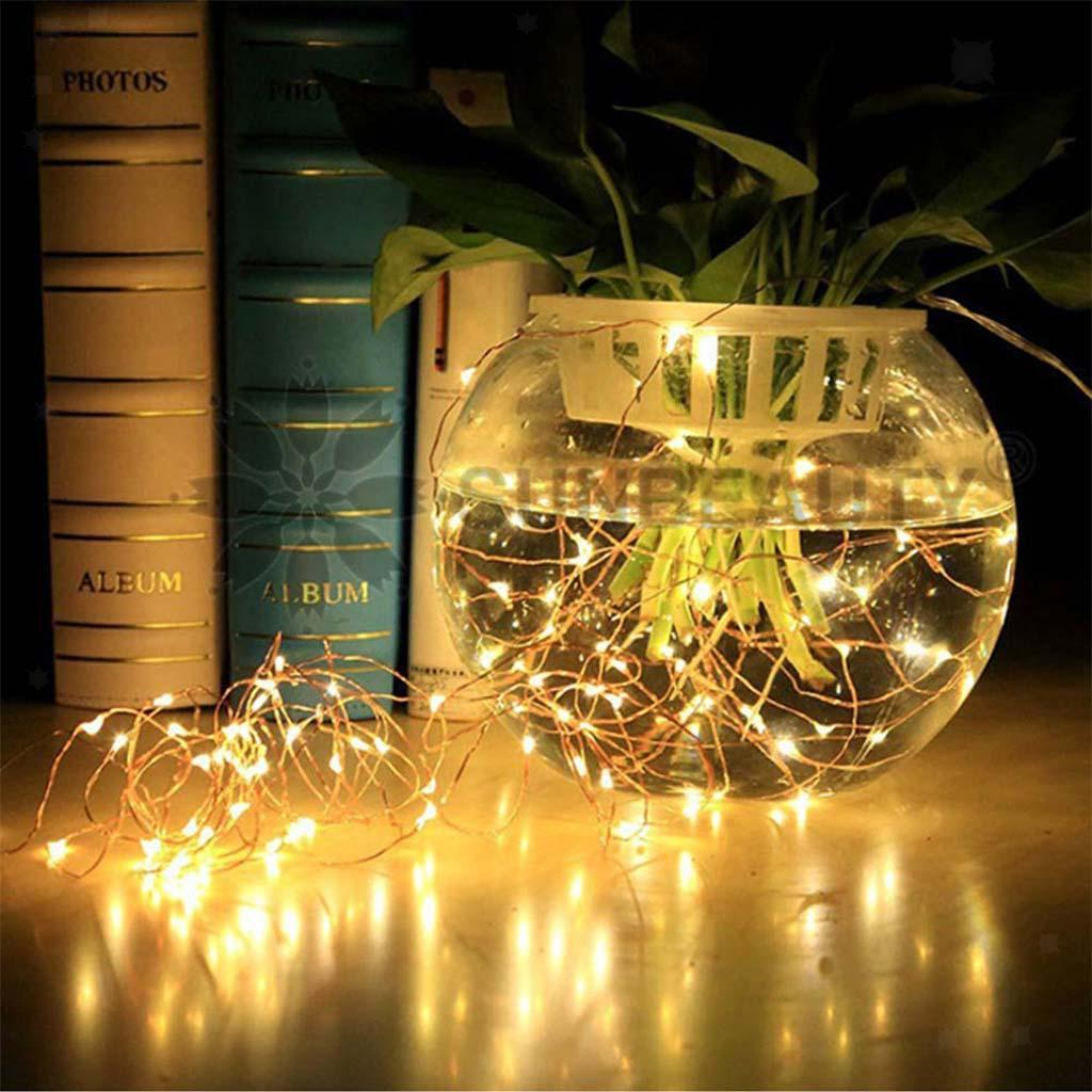 Holiday-Decor-Parties-Christmas-Decor-USB-String-Light-with-Remote-Control thumbnail 3