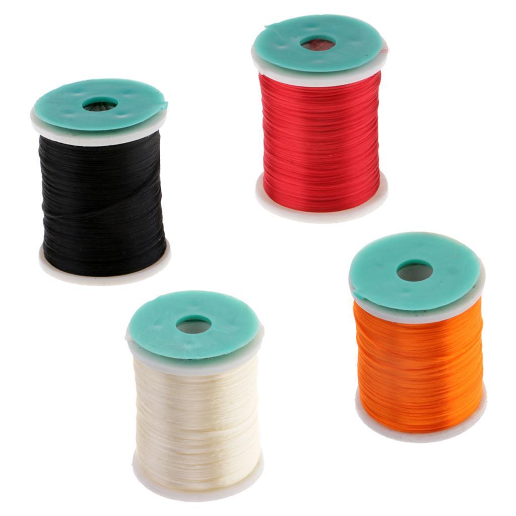 1 Spool Fly Tying Thread DIY Fly Tying Materials Fly and Jig Tying Thread