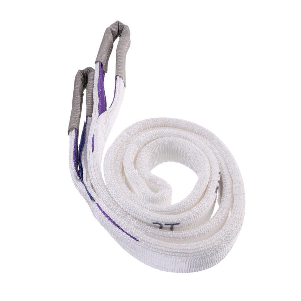 Lifting-Sling-Imbracatura-di-Sollevamento-Di-Doppio-Strato-Fibra-di miniatura 13