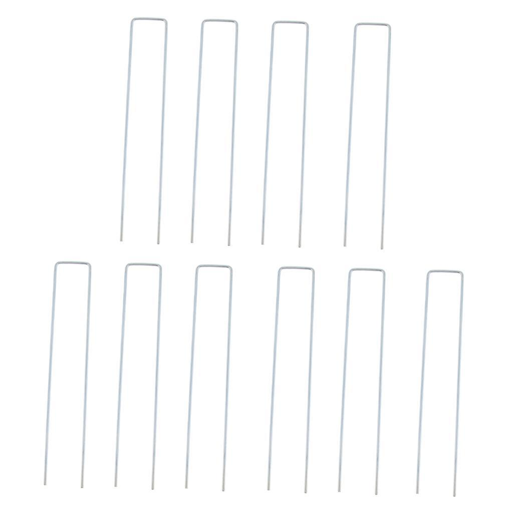 10-pezzi-tenda-da-campeggio-tenda-a-baldacchino-u-forma-perni-pioli-pali miniatura 13