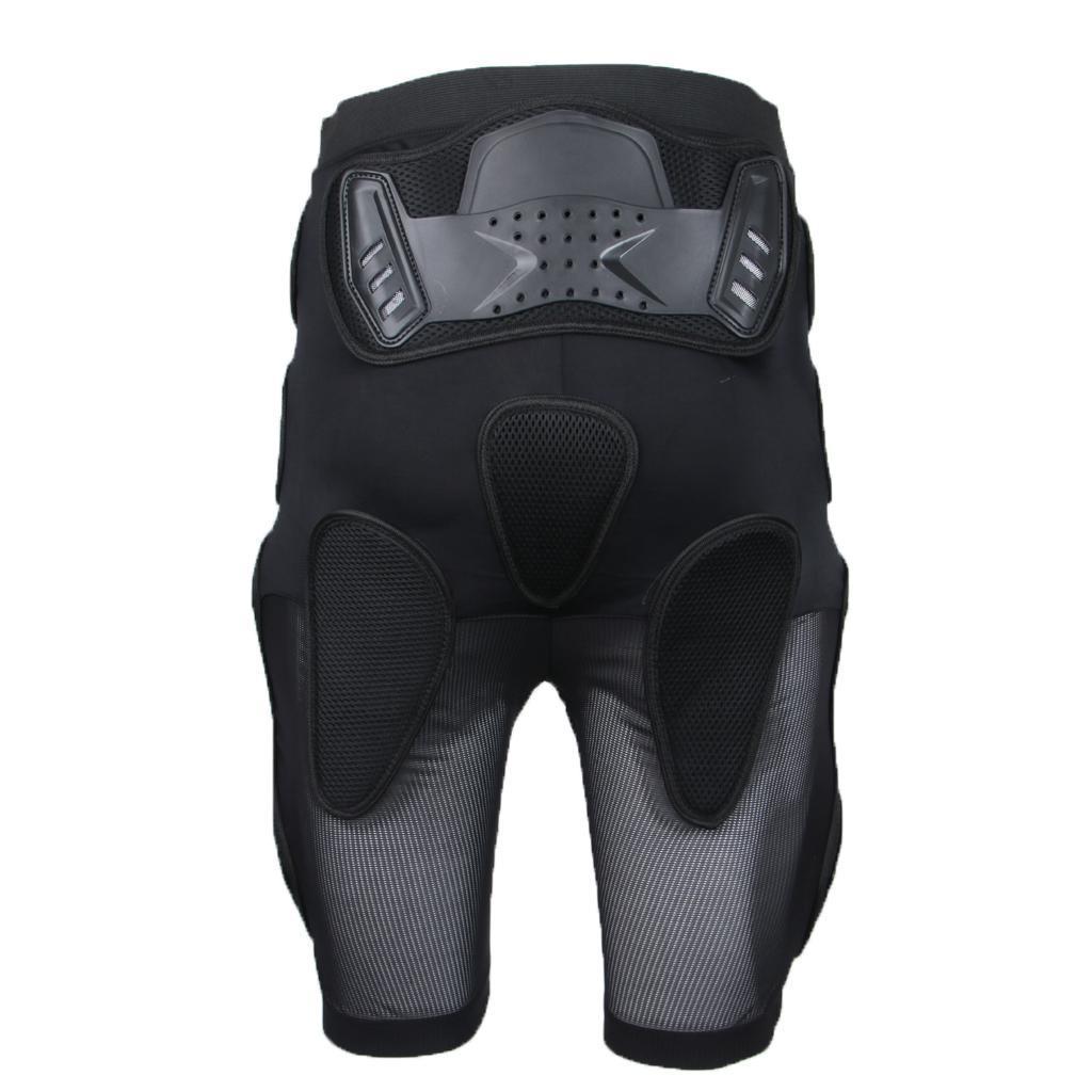 Moto-Racing-Ski-Armour-Tampons-Hanches-Jambes-Protecteur-Shorts-Pantalons miniature 4