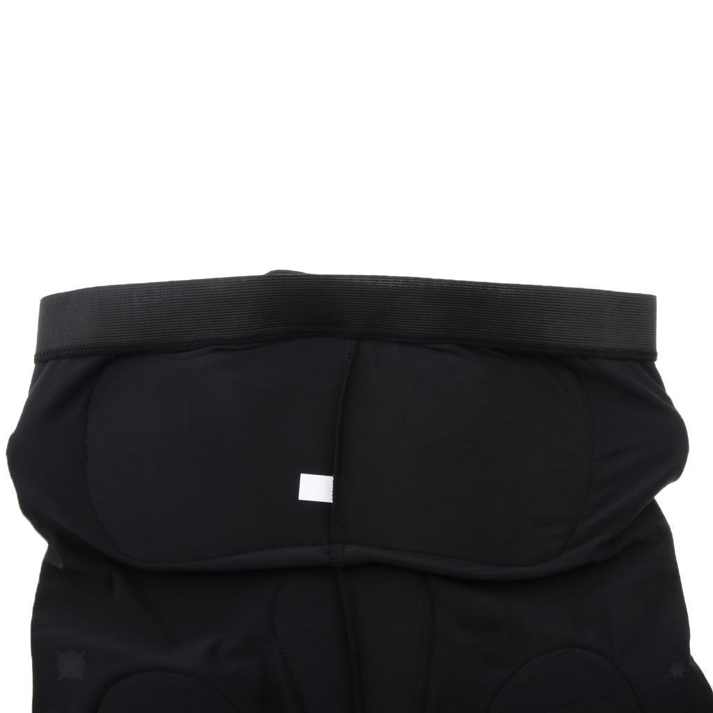 Moto-Racing-Ski-Armour-Tampons-Hanches-Jambes-Protecteur-Shorts-Pantalons miniature 5