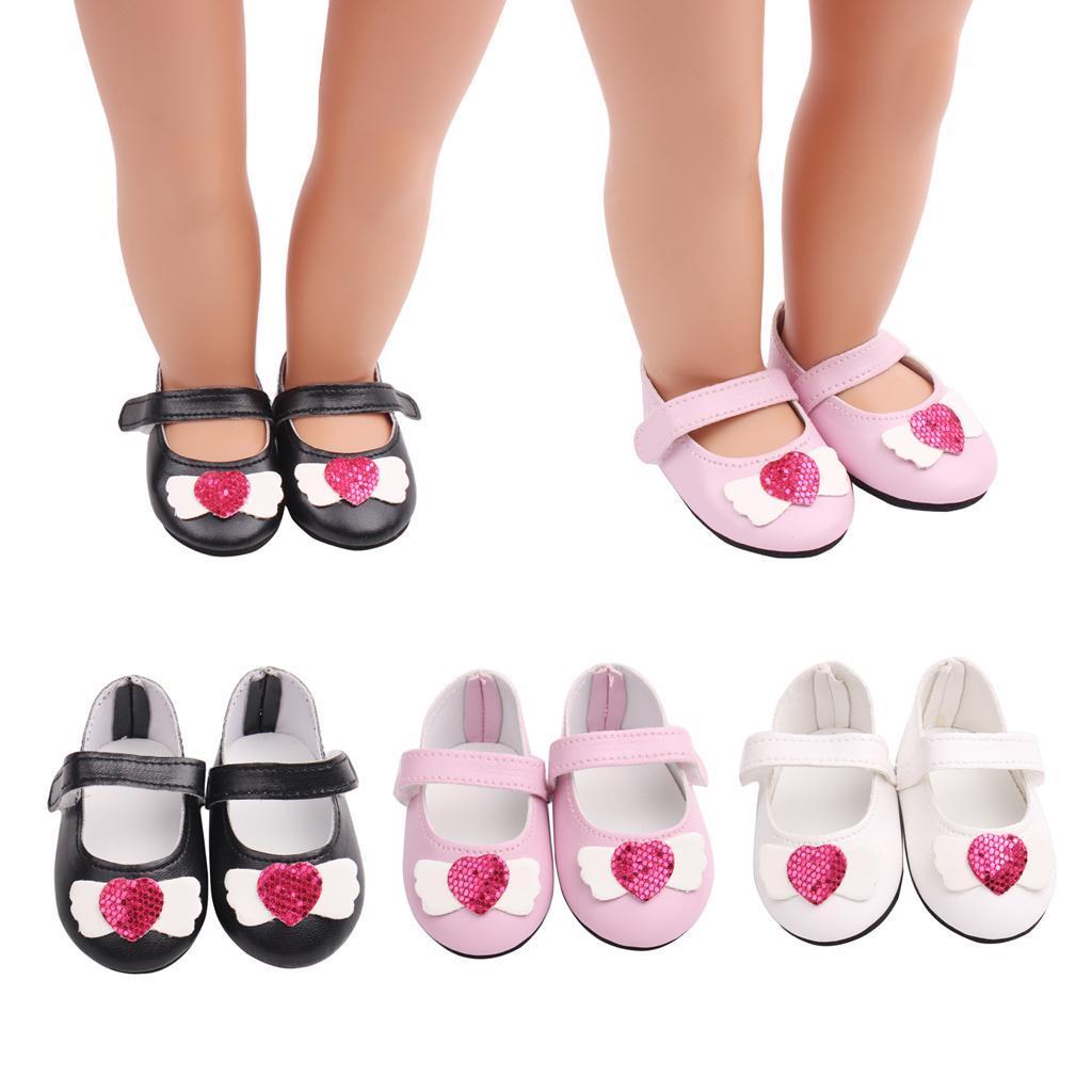 Poupee-Chaussure-Pour-18-Pouces-Fille-Americaine-Cadeaux-de-Noel miniature 5
