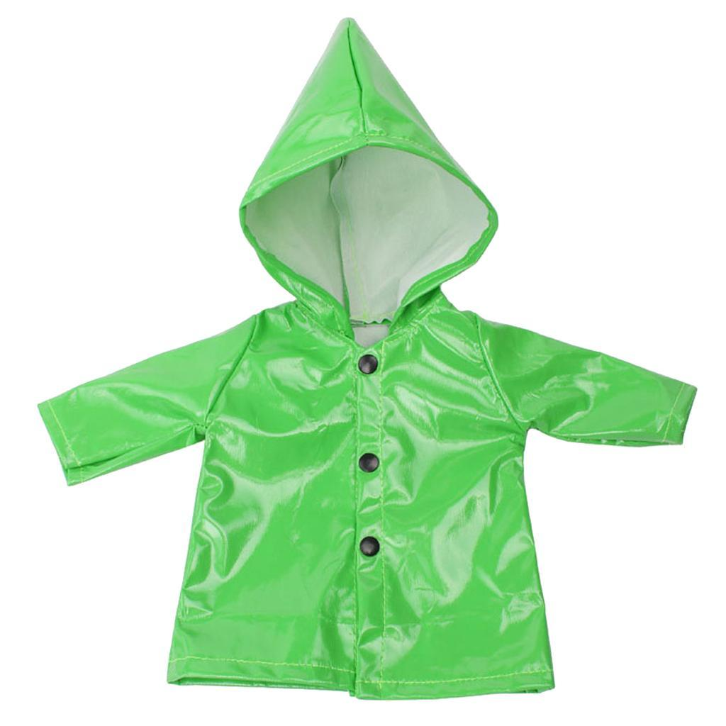 Candy-Color-Raincoat-Clothes-for-18-039-039-AG-American-Doll-Doll-Outfit-Accessory miniature 7