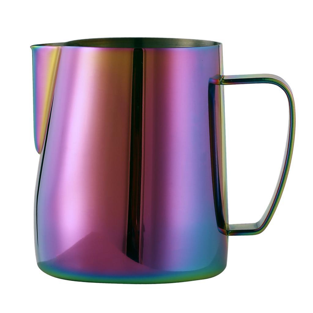 Milk-Pitcher-Stainless-Steel-Cup-Frothing-Pitcher-Jug-Coffee-Latte-600ml thumbnail 11