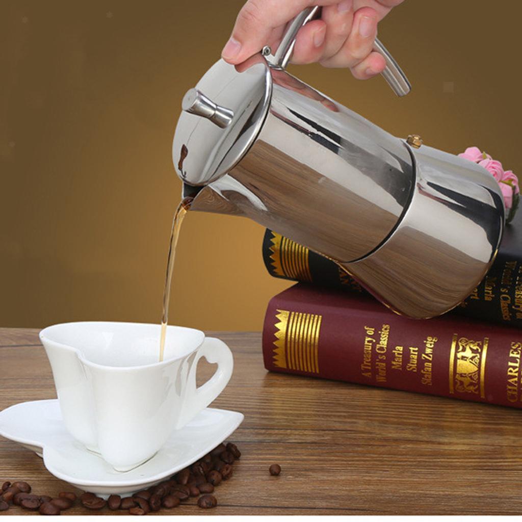 Espresso-Stove-Top-Coffee-Maker-Moka-Percolator-Pot-4-or-6-Cup thumbnail 7