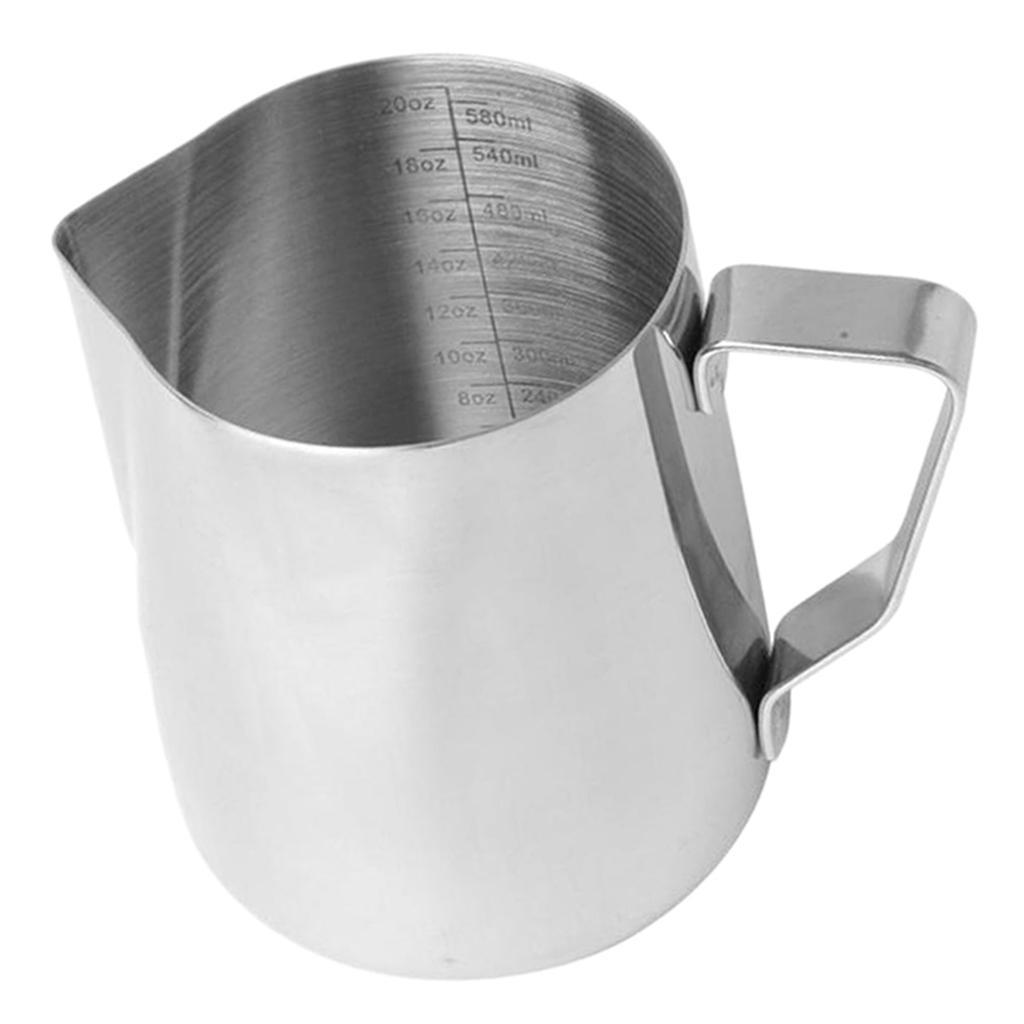 Milk-Frothing-Pitcher-Stainless-Steel-Creamer-Frothing-Pitcher-350-600ml thumbnail 19