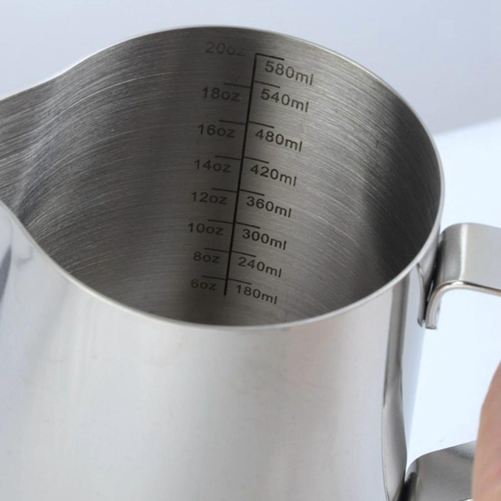 Milk-Frothing-Pitcher-Stainless-Steel-Creamer-Frothing-Pitcher-350-600ml thumbnail 23