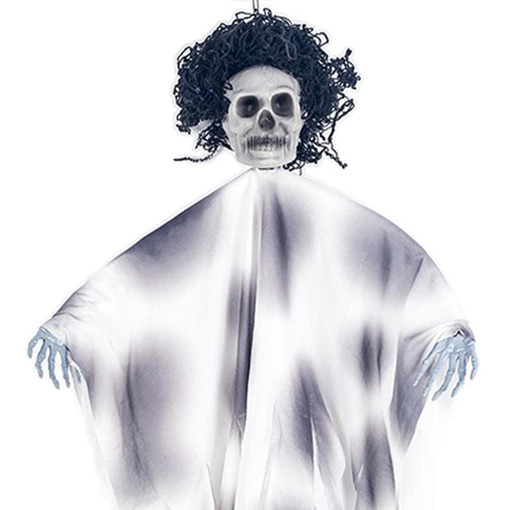 Hanging Ghost Skeleton Halloween Party Creepy Skull