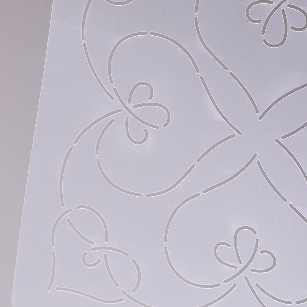 1pc-Plastic-Embroidery-Quilting-Templates-amp-Stencils-Sewing-Patchwork-Tools-DIY thumbnail 19