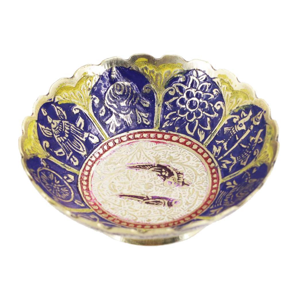 Piatta-Cibo-Casa-Servire-Tavola-Frutta-Buddismo-Decorazione-Collezioni miniatura 16
