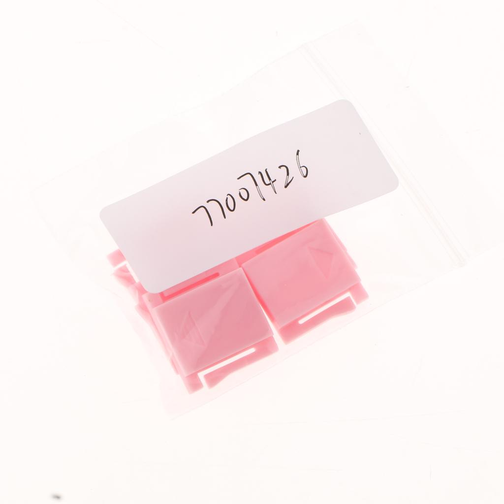 5 Pieces Hot Shoe Cover Protector Cap for Canon Nikon Olympus Pentax DSLR SLR ( Pink )