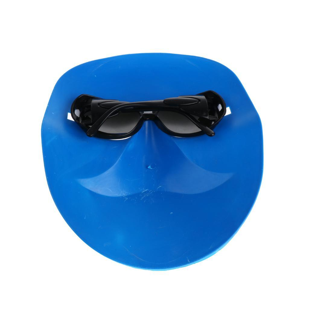 Maske Brille