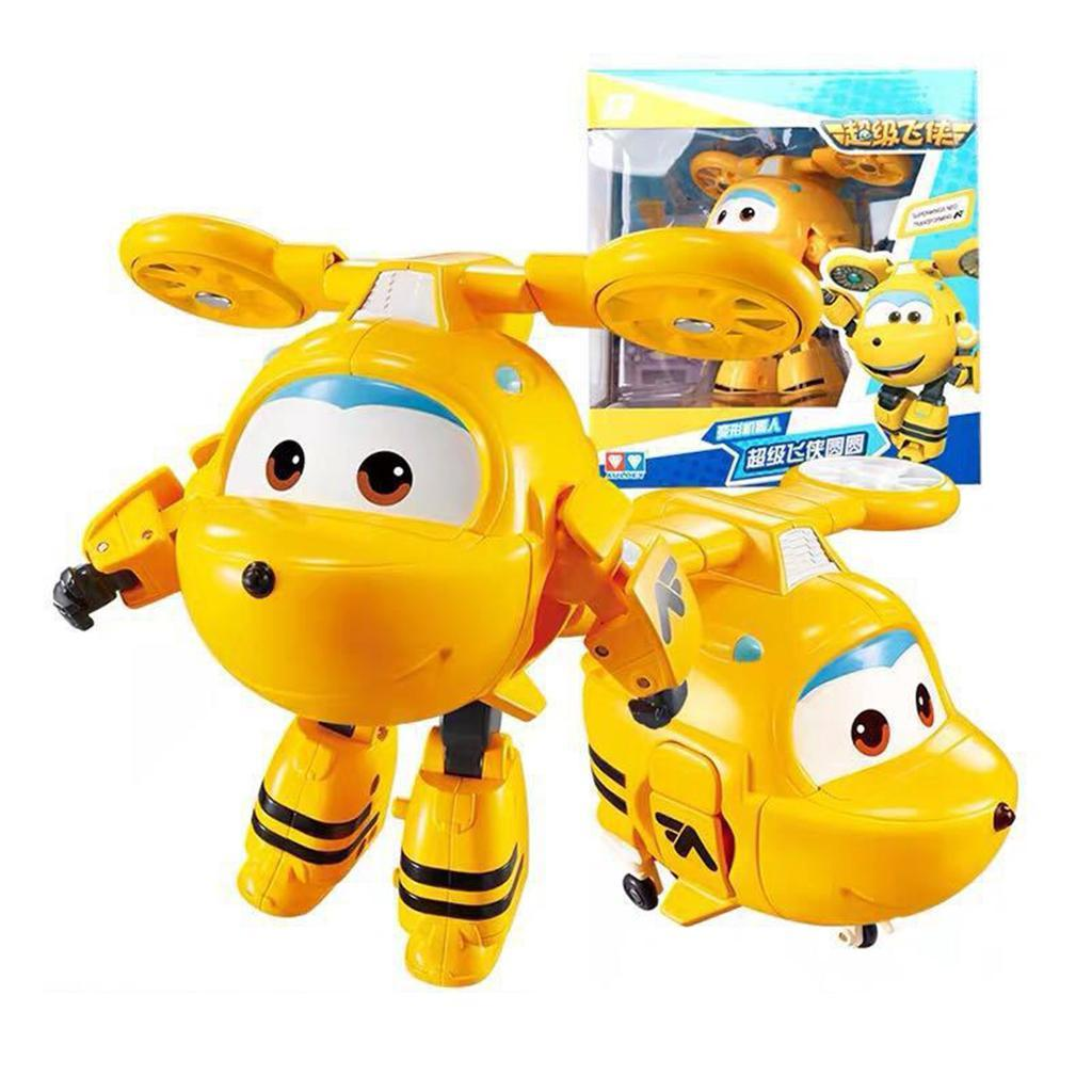 Super-Wings-Transforming-Robot-Plane-Vehicle-Character-Figures-Cartoon-Toy-Gifts miniature 22