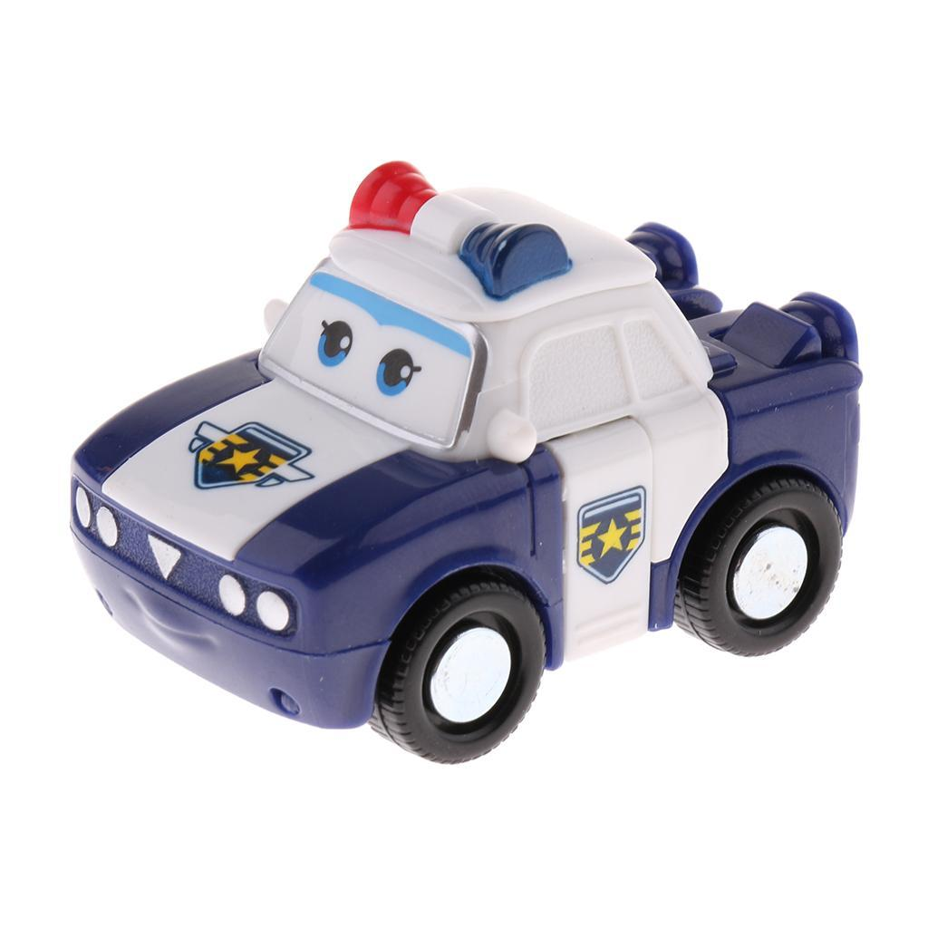 Animation Super Wings Transforming Plane Vehicle Big Robot Figure