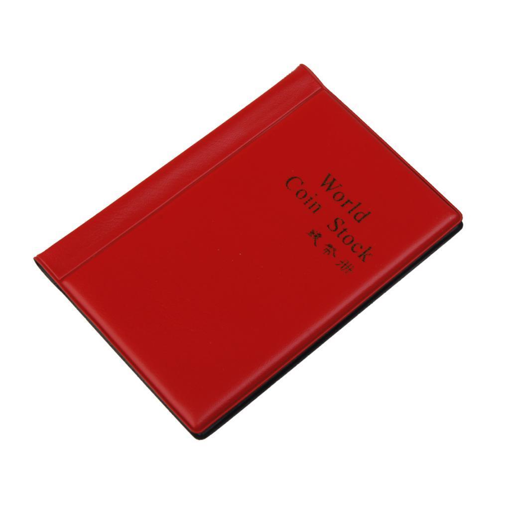 Raccoglitore-per-Monete-da-Collezione-Album-Portamonete-120-Tasche-10-Fogli miniatura 16
