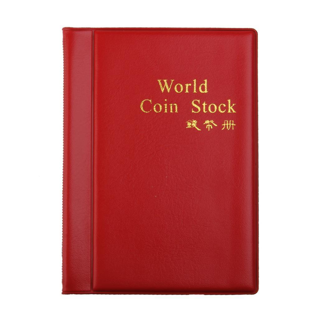 Raccoglitore-per-Monete-da-Collezione-Album-Portamonete-120-Tasche-10-Fogli miniatura 18
