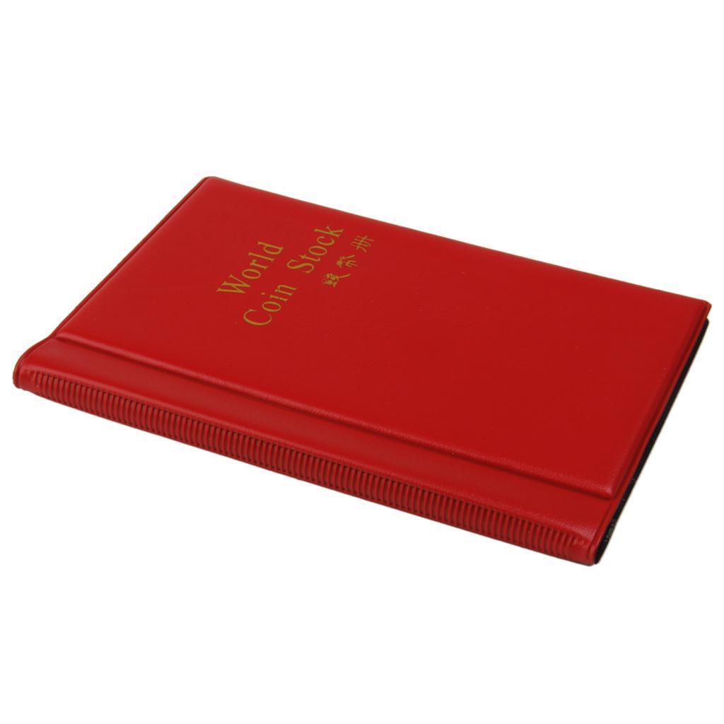 Raccoglitore-per-Monete-da-Collezione-Album-Portamonete-120-Tasche-10-Fogli miniatura 13