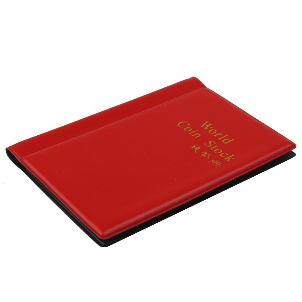 Raccoglitore-per-Monete-da-Collezione-Album-Portamonete-120-Tasche-10-Fogli miniatura 14