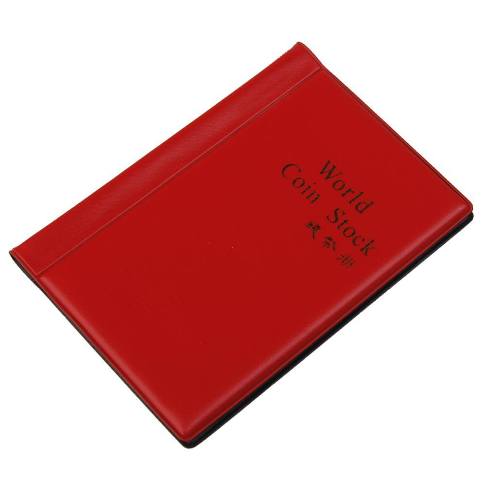 Raccoglitore-per-Monete-da-Collezione-Album-Portamonete-120-Tasche-10-Fogli miniatura 15