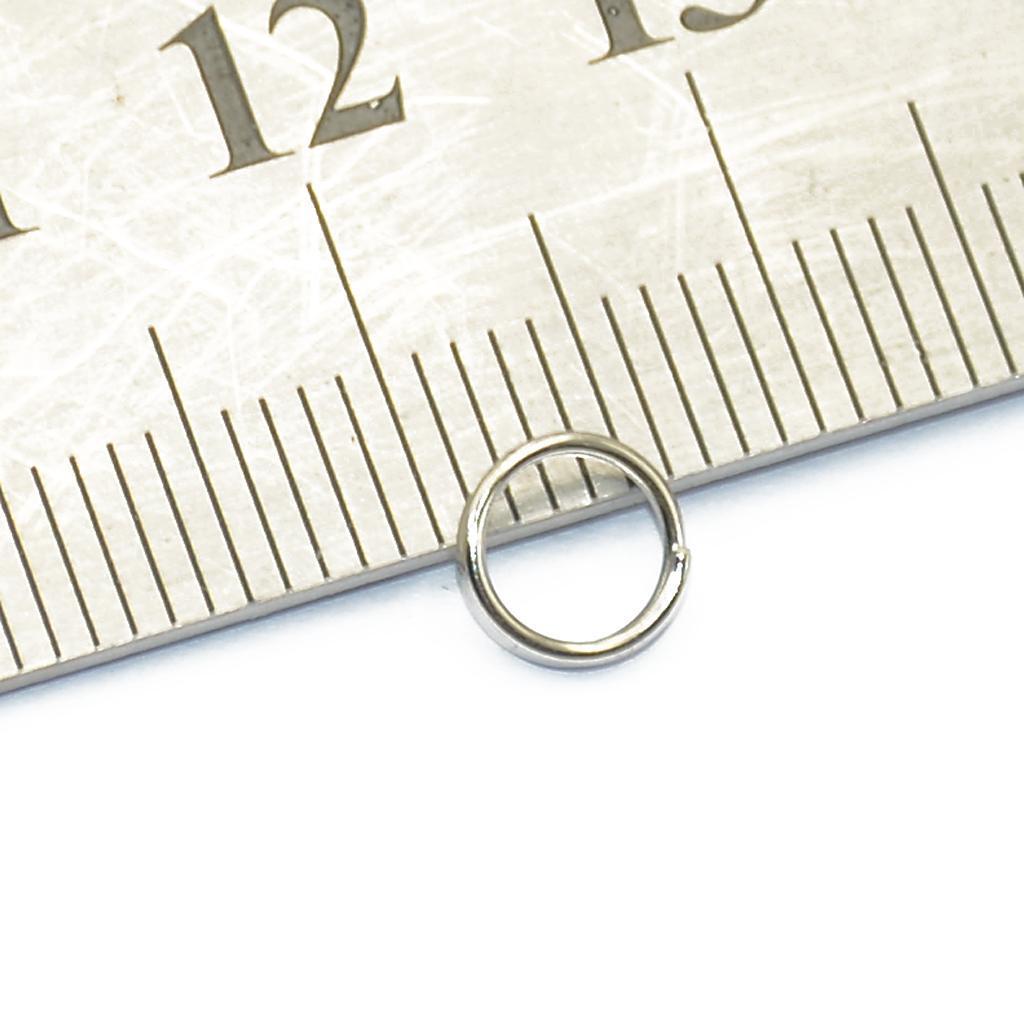 200pcs-Lot-Steel-Metal-Key-Split-Ring-Keyrings-Key-Chain-Findings-Making-6mm-8mm thumbnail 7