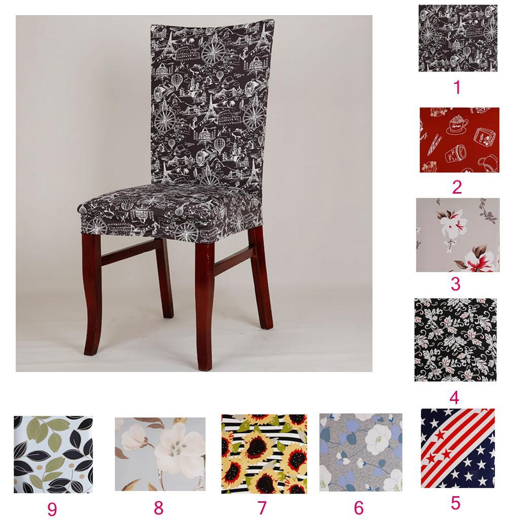 Dining-Room-Chair-Slipcover-Cover-Stretchy-amp-Washable-Wedding-Banquet-Decor thumbnail 15