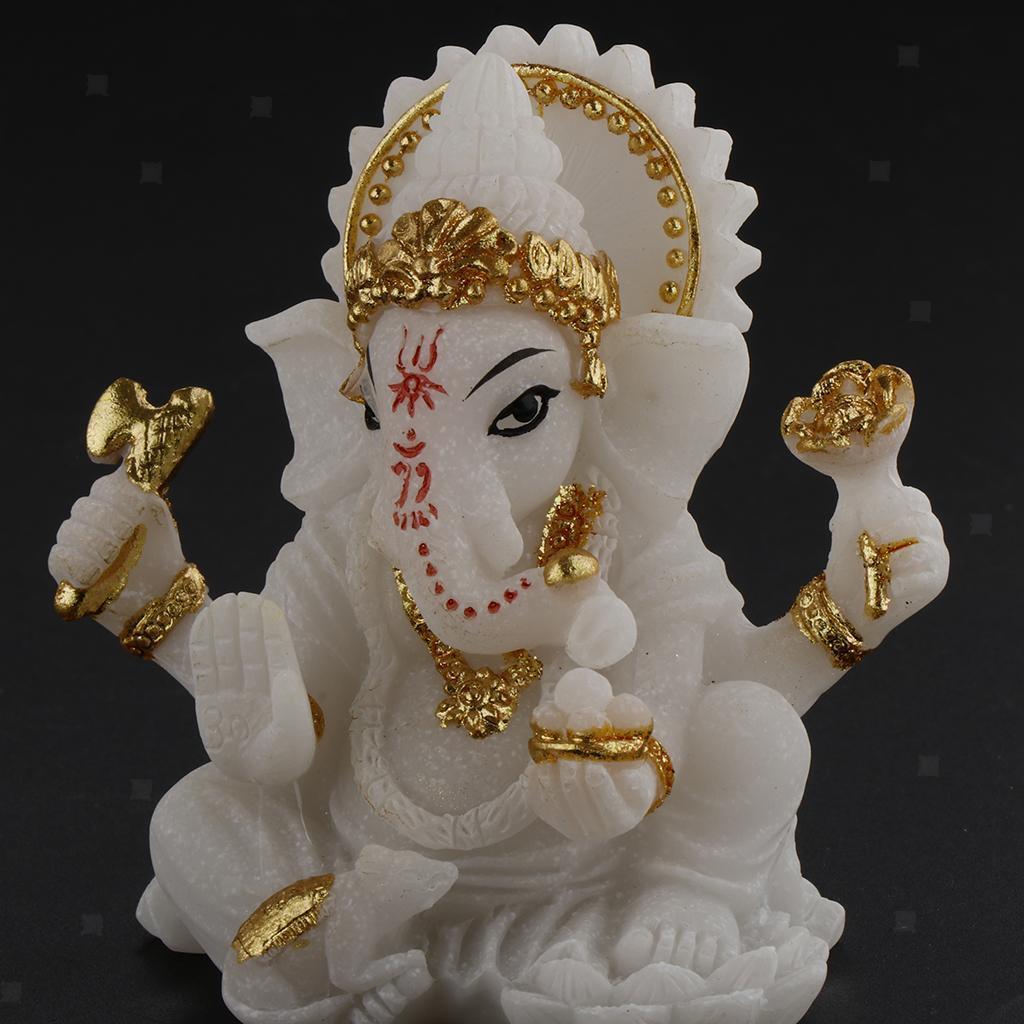 miniatura 6 - Stile Thai resina Elephant vagina statua scultura Feng Shui nel Decorazione