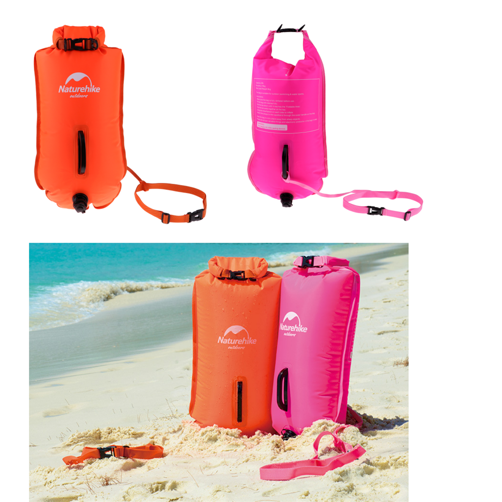 Safety-Swim-Buoy-Dry-Bag-Tow-Float-for-Open-Water-Swimmer-Swimming-Training thumbnail 9