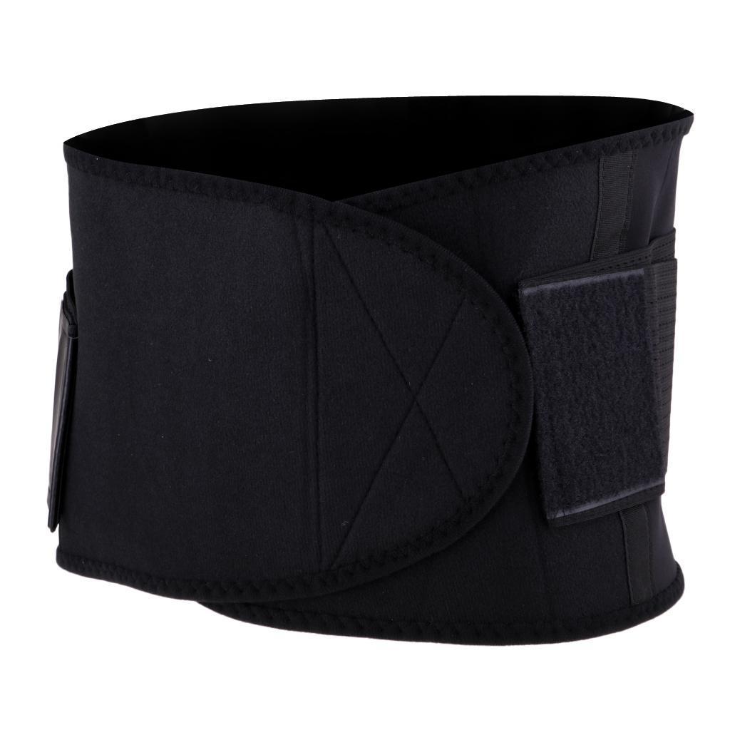 Waist-Trimmer-Weight-Loss-Ab-Belt-Premium-Stomach-Fat-Burner-Wrap-Trainer thumbnail 12