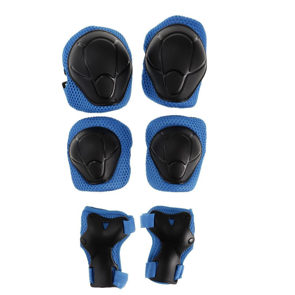 Kids-Scooter-Cycling-Skateboard-Helmet-Wrist-Knee-Elbow-Pad-Protector thumbnail 4