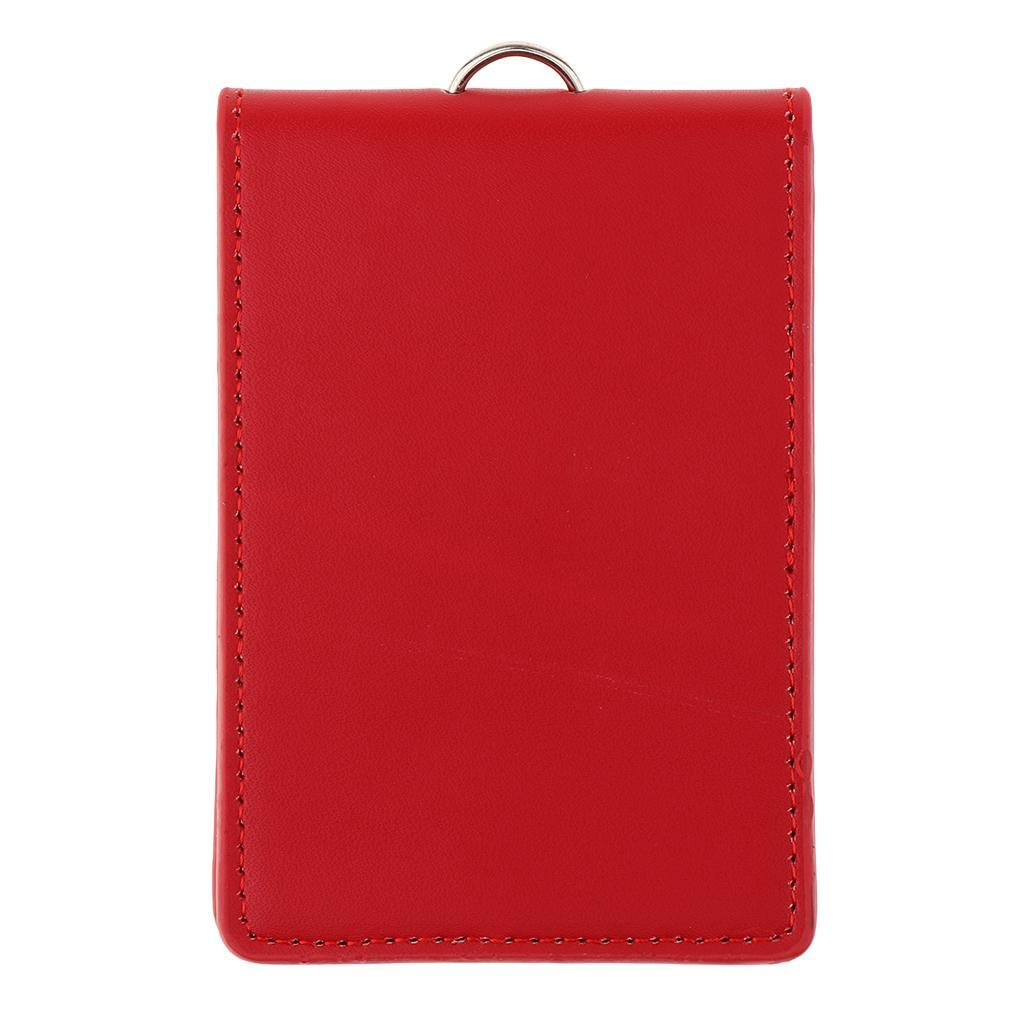 Porte-Cartes Vertical SADDLER en Cuir Nappa pour Cartes de Credit et Papiers dIdentite