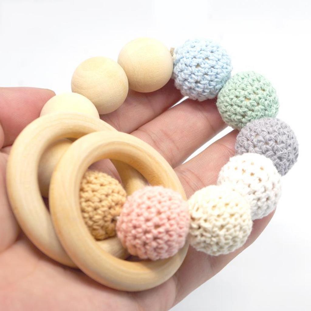 20pcs-Baby-Natural-Wood-Teething-Ring-Teether-Toy-Wooden-Bracelet-DIY-Crafts thumbnail 55