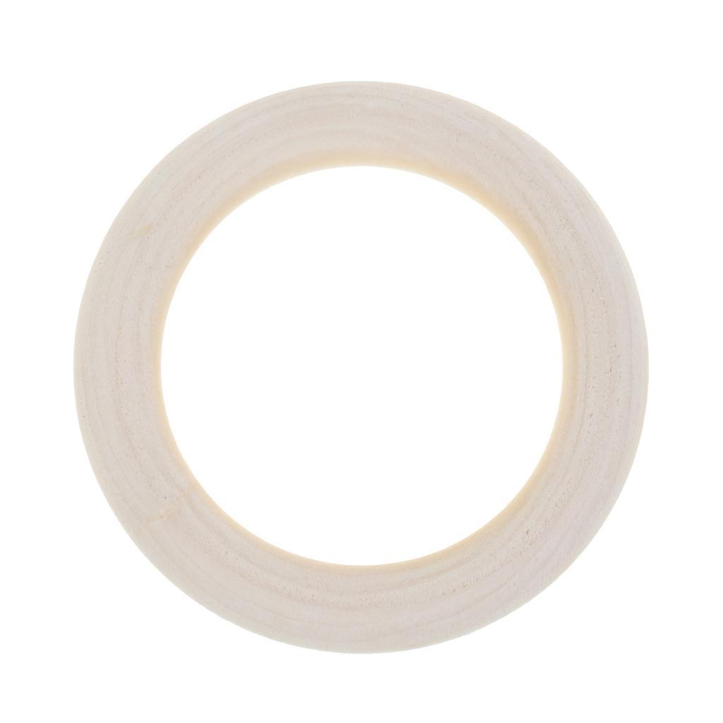 20pcs-Baby-Natural-Wood-Teething-Ring-Teether-Toy-Wooden-Bracelet-DIY-Crafts thumbnail 50