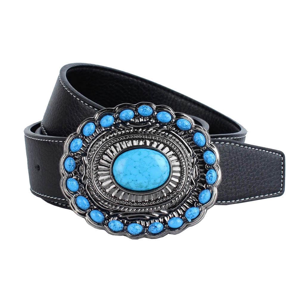 Cintura-da-cintura-con-fibbia-in-pelle-di-Bohemian-Western-Cowboy-PU miniatura 14