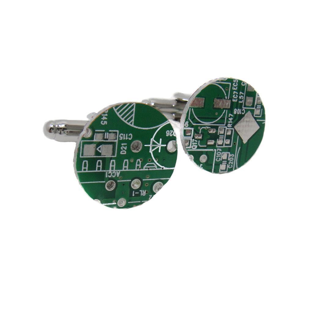 Circuit Board Cuff Linkspcb Cufflinkscircuit Board Cufflinksresin
