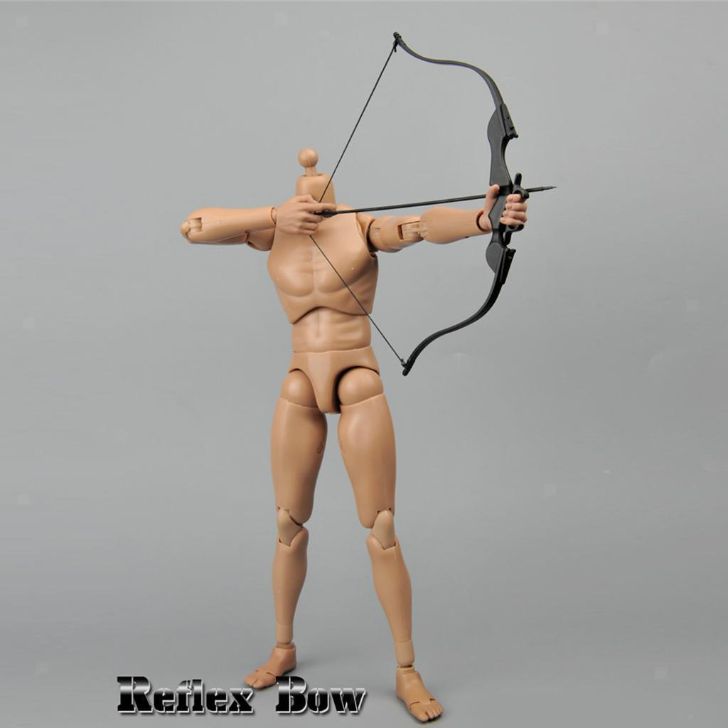 Miniature-Bow-amp-fleches-Set-for-1-6-scale-12-034-action-figure-man-First-Blood-Rambo miniature 15