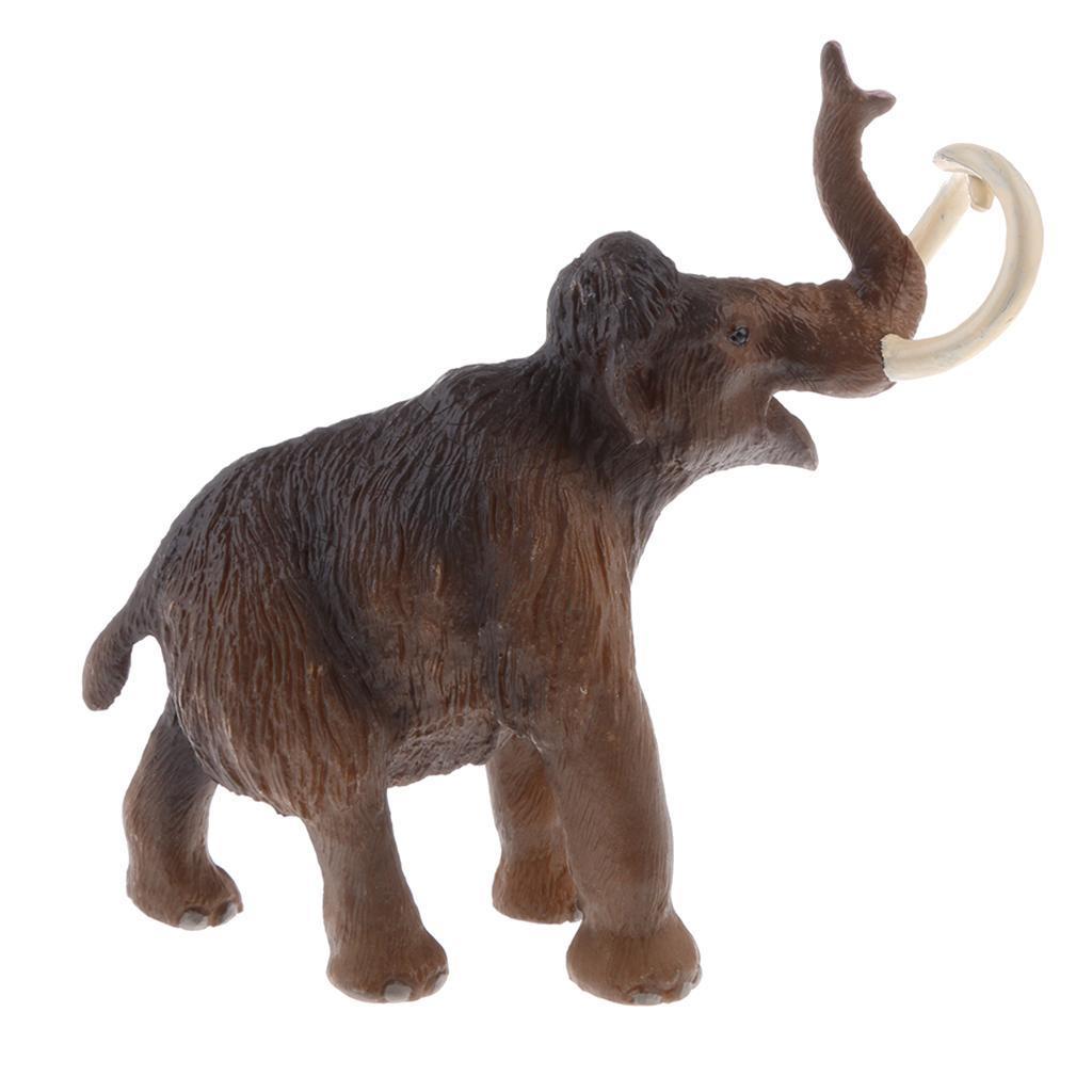 Animaux En Plastique Jouet détails sur figurine réaliste modèle animal Éléphant moyen en plastique  jouets éducatifs