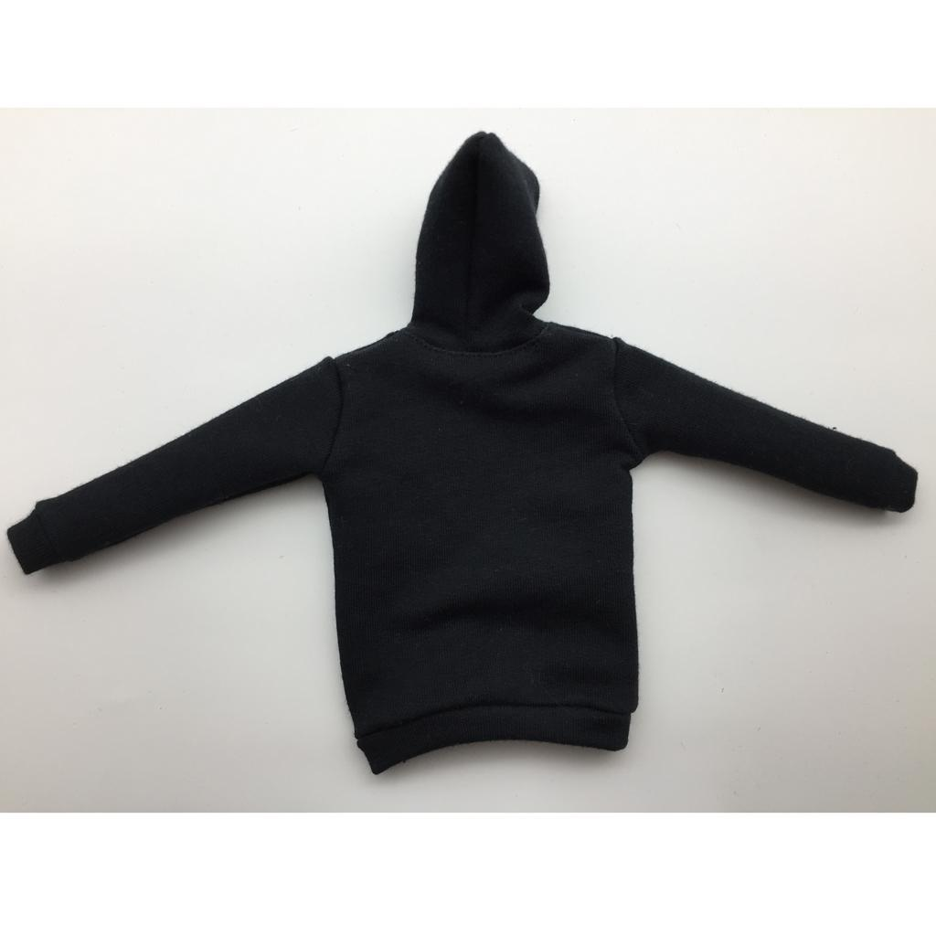 1-6-Scale-Mens-Long-Hoodie-Hooded-Sweatshirt-for-12inch-Action-Figure-Hot-Toys miniature 10
