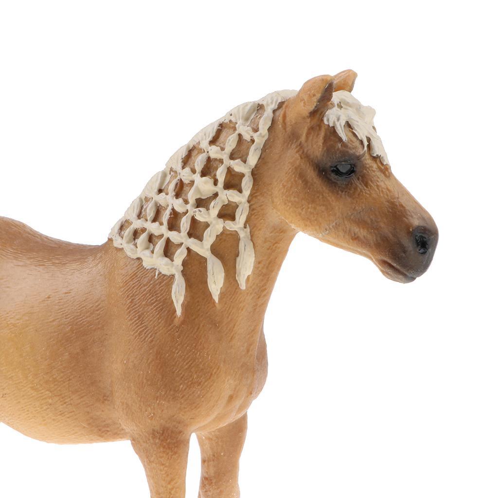 8x Farm Animals Models Figure Set Toy Plastic Simulation Horse Dog Kid GiftB qi