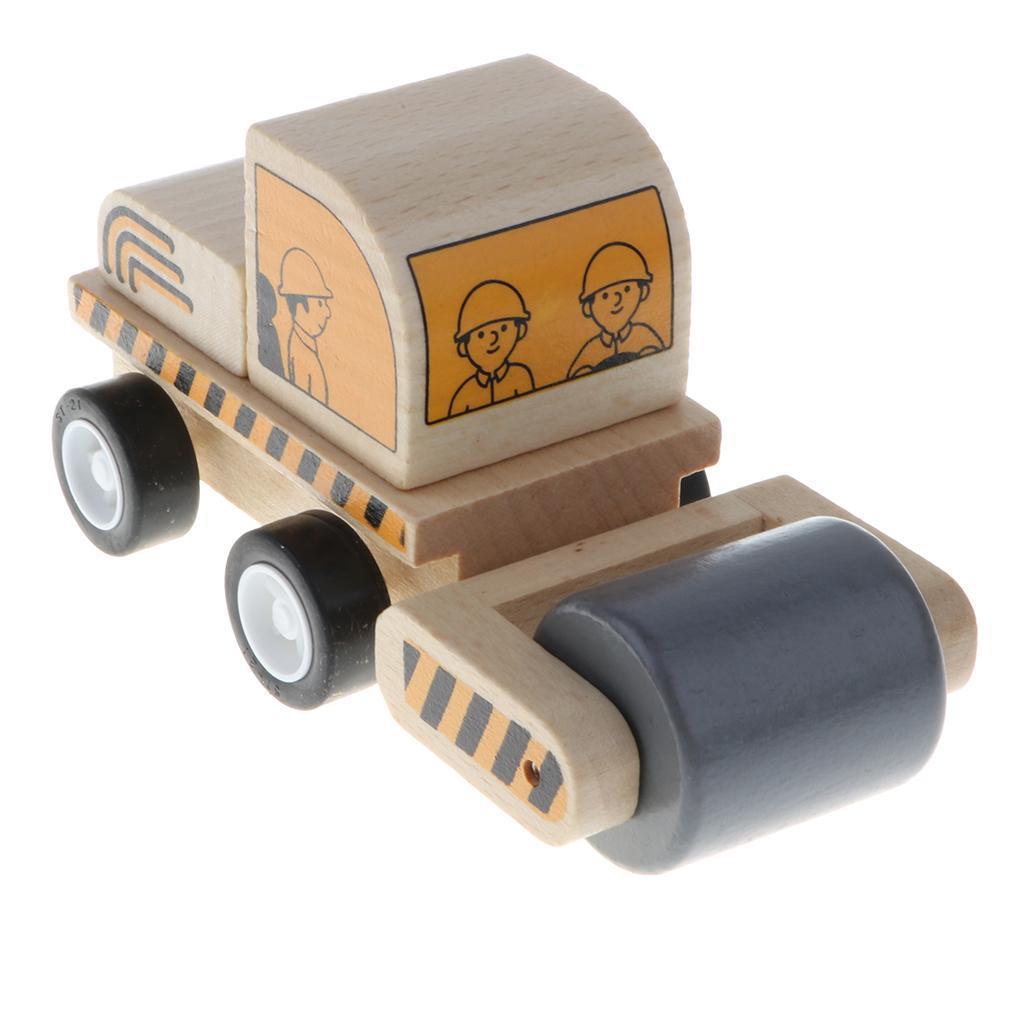 miniature 7 - Puzzle 3D Camion de Génie Jouet Montage en Bois Vehicule Simulation