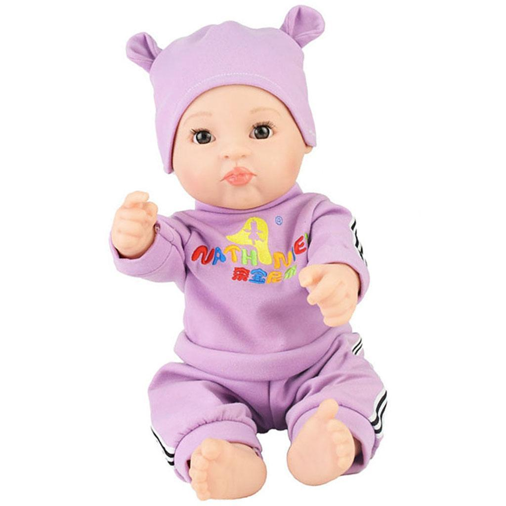 20inch Vinyl Reborn Expression Baby Boy Doll with Outfits ...