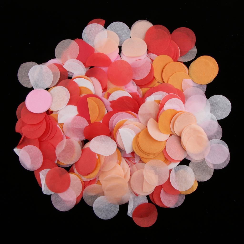 Bag-of-30g-Round-Tissue-Paper-Throwing-Confetti-Party-Wedding-Table-Decoration miniature 28